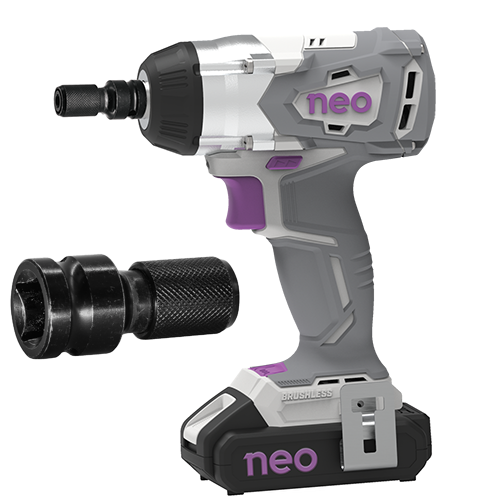 Cordless Impact Wrench and Screwdriver without battery